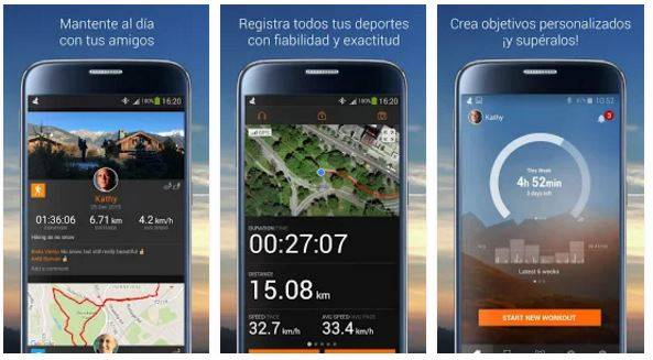sport tracker app
