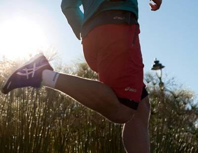 runing y antes de salir a correr