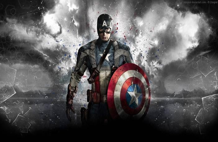 Rutina del capitán américa