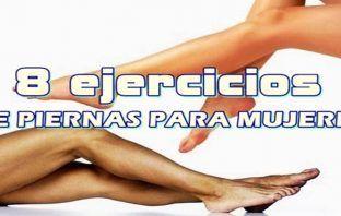 Ejercicios de piernas para mujeres
