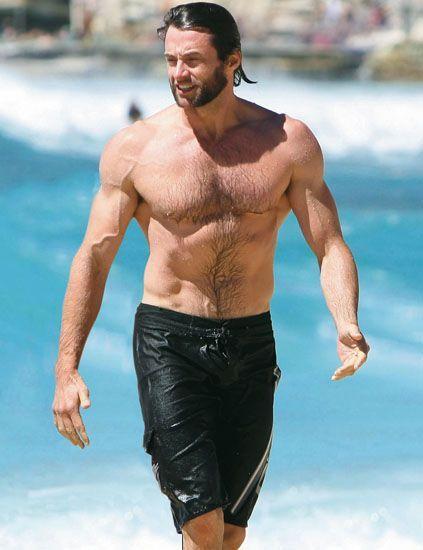 Hugh Jackman en bañador