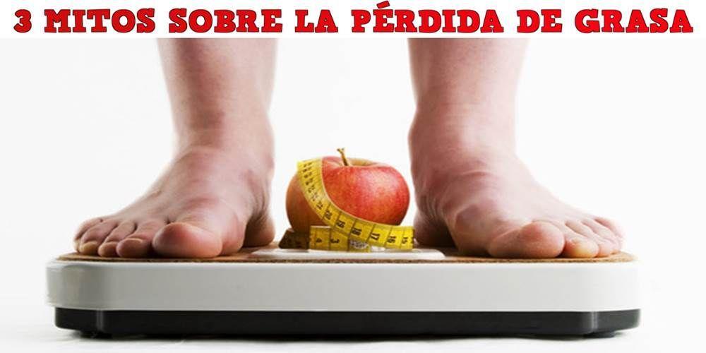 Mitos sobre la pérdida de grasa.