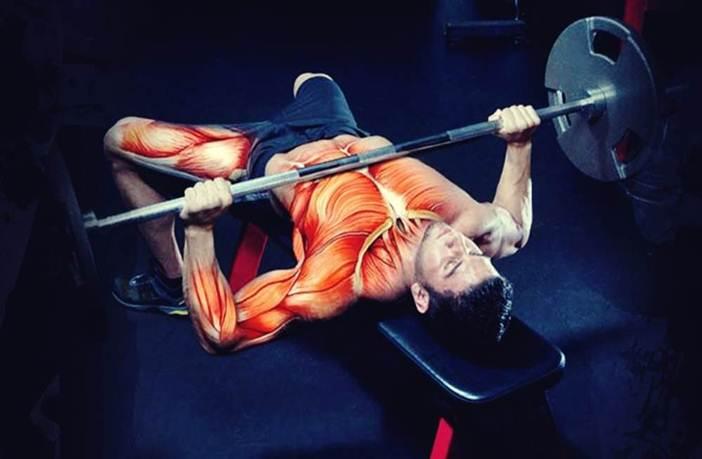 Press banca y activación muscular