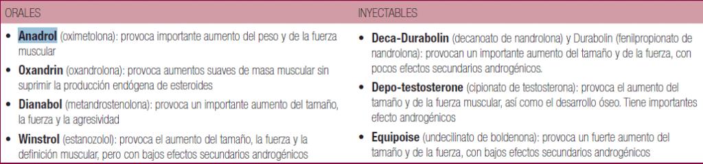 estereoides-orales