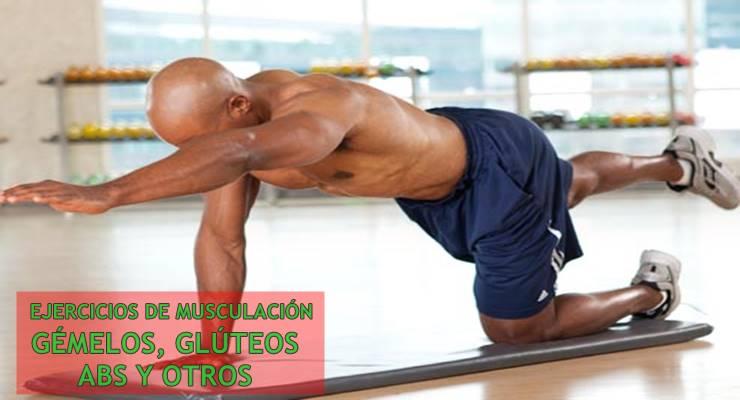 ejercicios para gémelos y abdominales