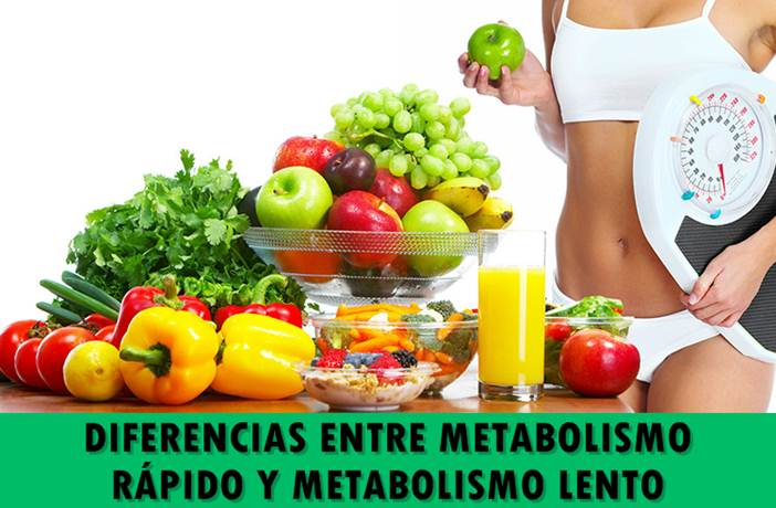 dieta para personas de metabolismo lento