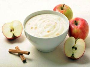 yogur-manzana