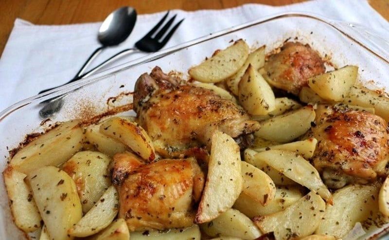 Pollo-con-patatas