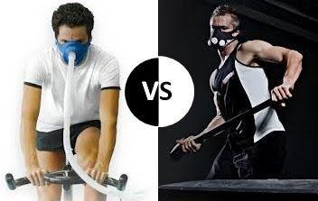 La máscara de la derecha no no simular la formación en la hipoxia y no se puede esperar para ayudar a esfuerzo derramó 11% de la grasa corporal, ya que se observó en un estudio de 2.013 en atletas entrenados