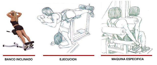 hiperextensiones bíceps femoral