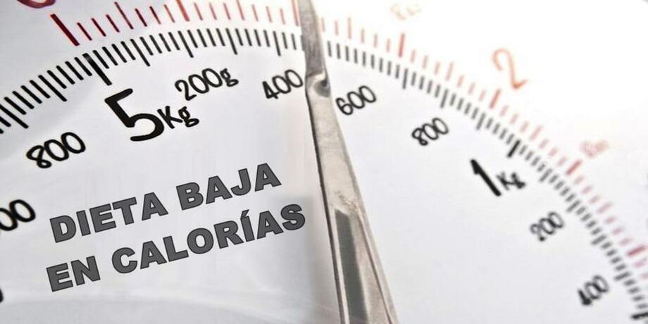 restricción calórica para perder peso