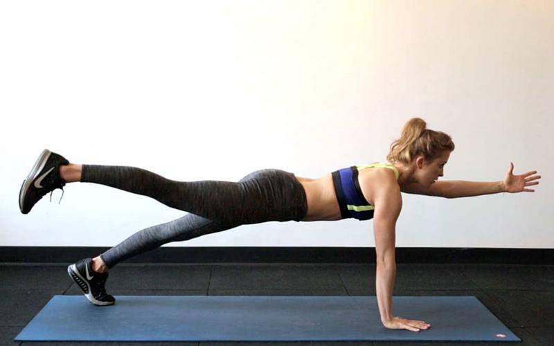 ejercicios de abdominales isometricos
