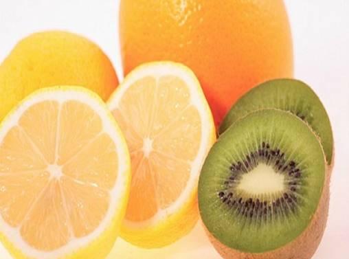 kiwi y naranja