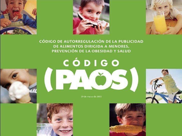 El Código PAOS pretendía regular la publicidad que reciben los más pequeños