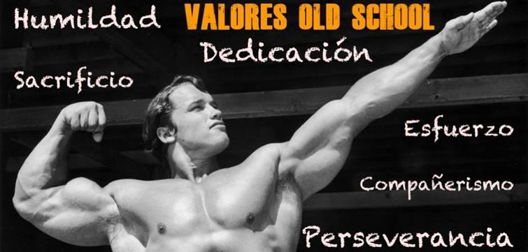 Valores de la vieja escuela en el gym