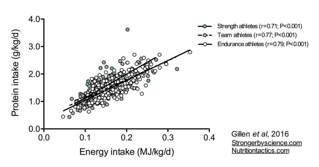 Gráfico ingesta de proteínas 2