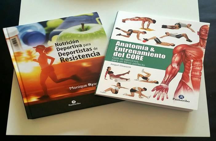 Libros sobre fitness y nutrición
