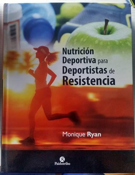 libro nutrición para deportistas de resistencia