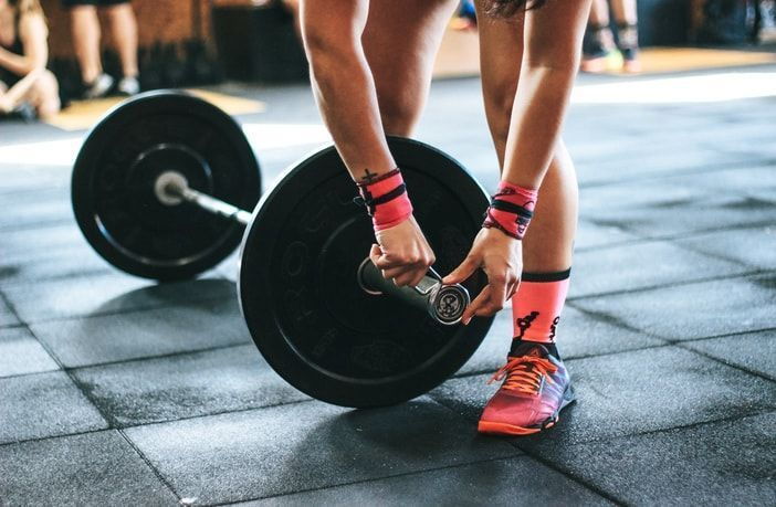 entrenamiento de pesas para mujeres