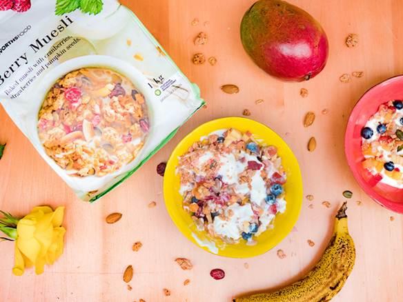 Comida desayuno proteico