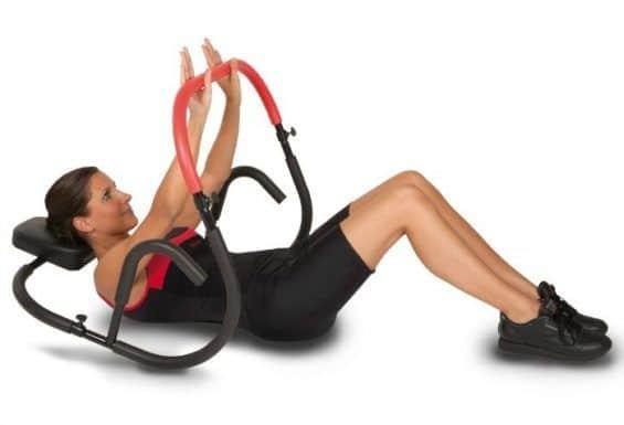 ejercicio abdominal ab roller