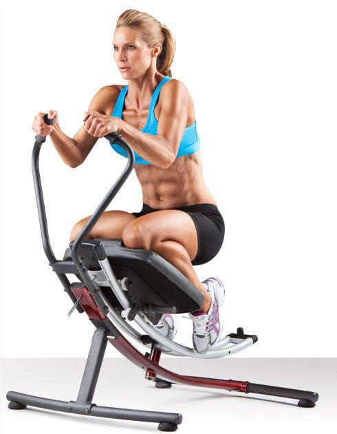 ejercicio abdominal en maquina-ab-glider