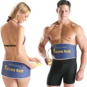 Sauna belt para abdominales