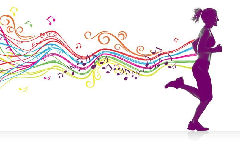 running con música