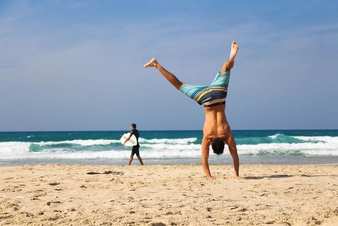 No coger peso en las vacaciones verano