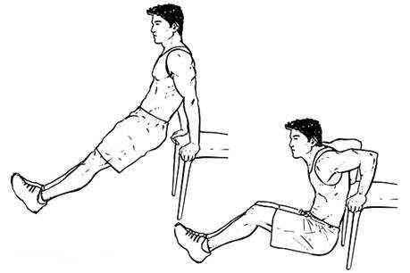 Tríceps en silla