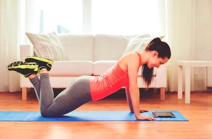 Entrenamiento con peso corporal en casa