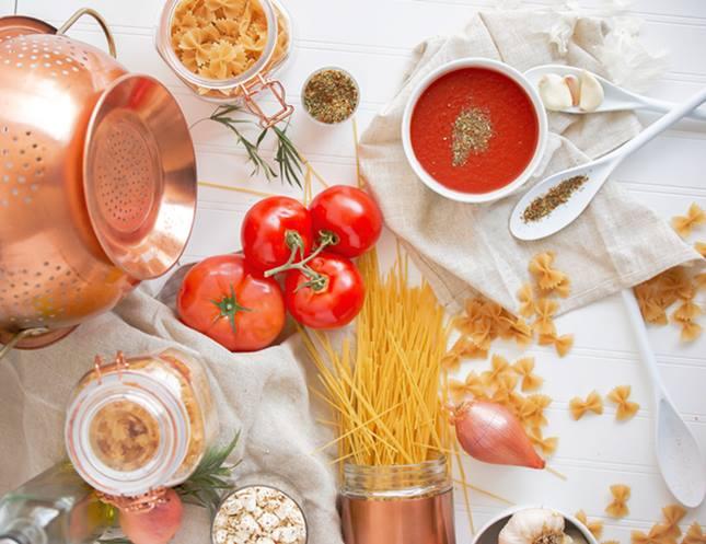 Pasta y bloqueadores de carbohidratos y grasas