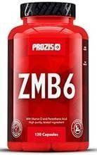Prozis ZMB6 120 Caps - Cinc, Magnesio y B6 - Fórmula Vitamínico Mineral para Atletas - Impulsor del Sistema Inmunitario
