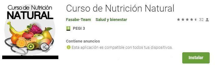 curso nutrición natural