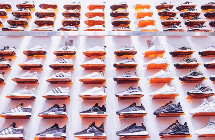 Tipos diferentes de zapatillas de deporte