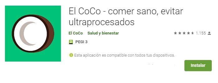 El coco App