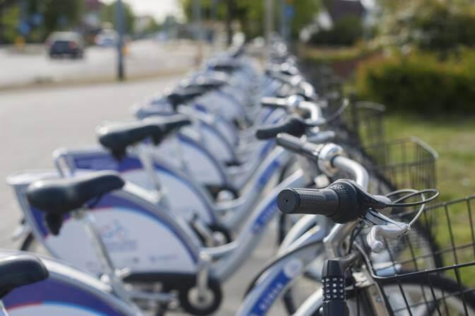 Bicicletas eléctricas en la calle