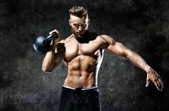 pesas rusas en el entrenamiento