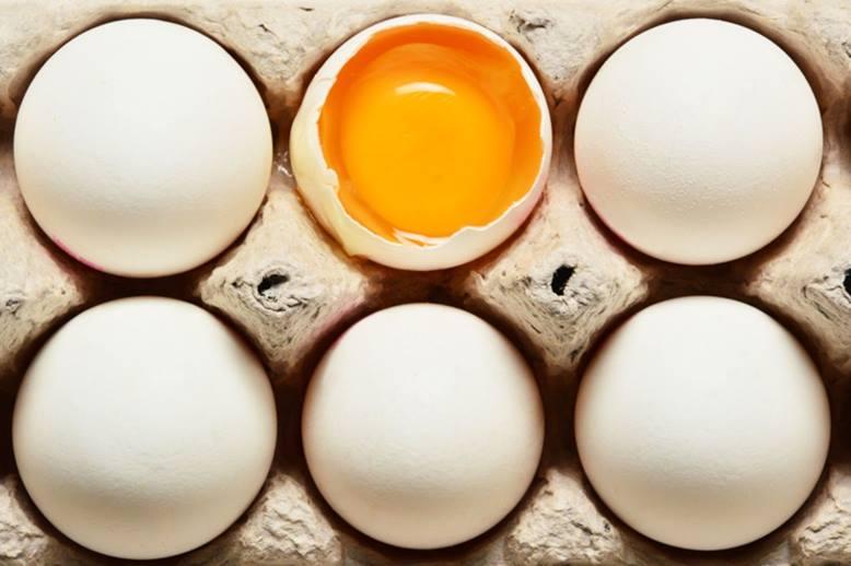 proteínas en los huevos