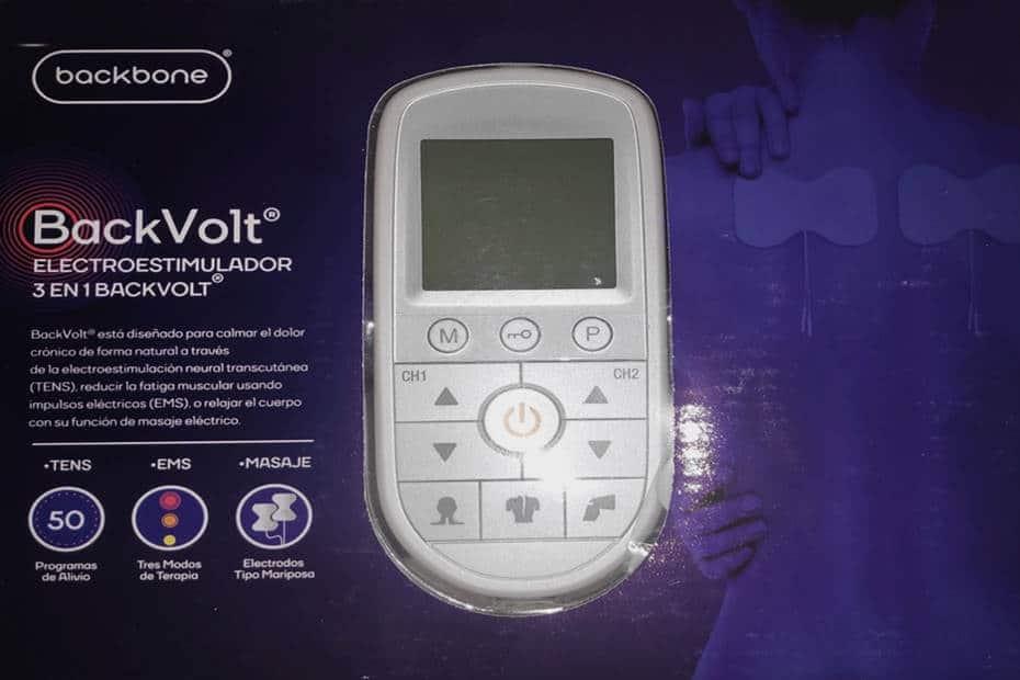Electroestimulador-Backvolt